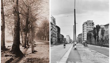 Viale Monza dagli anni 80 dell'800 agli anni 50 del 900